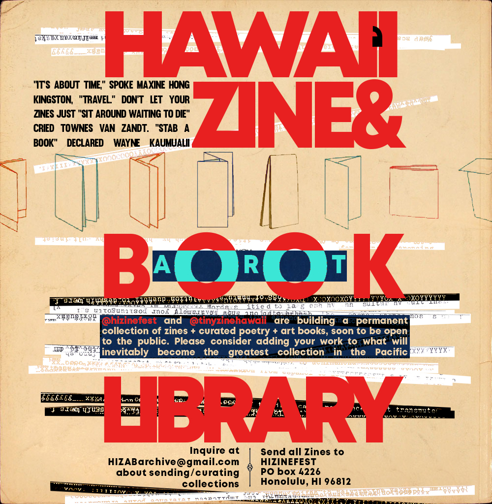 Hawaiʻi Zine and Art Book Library
